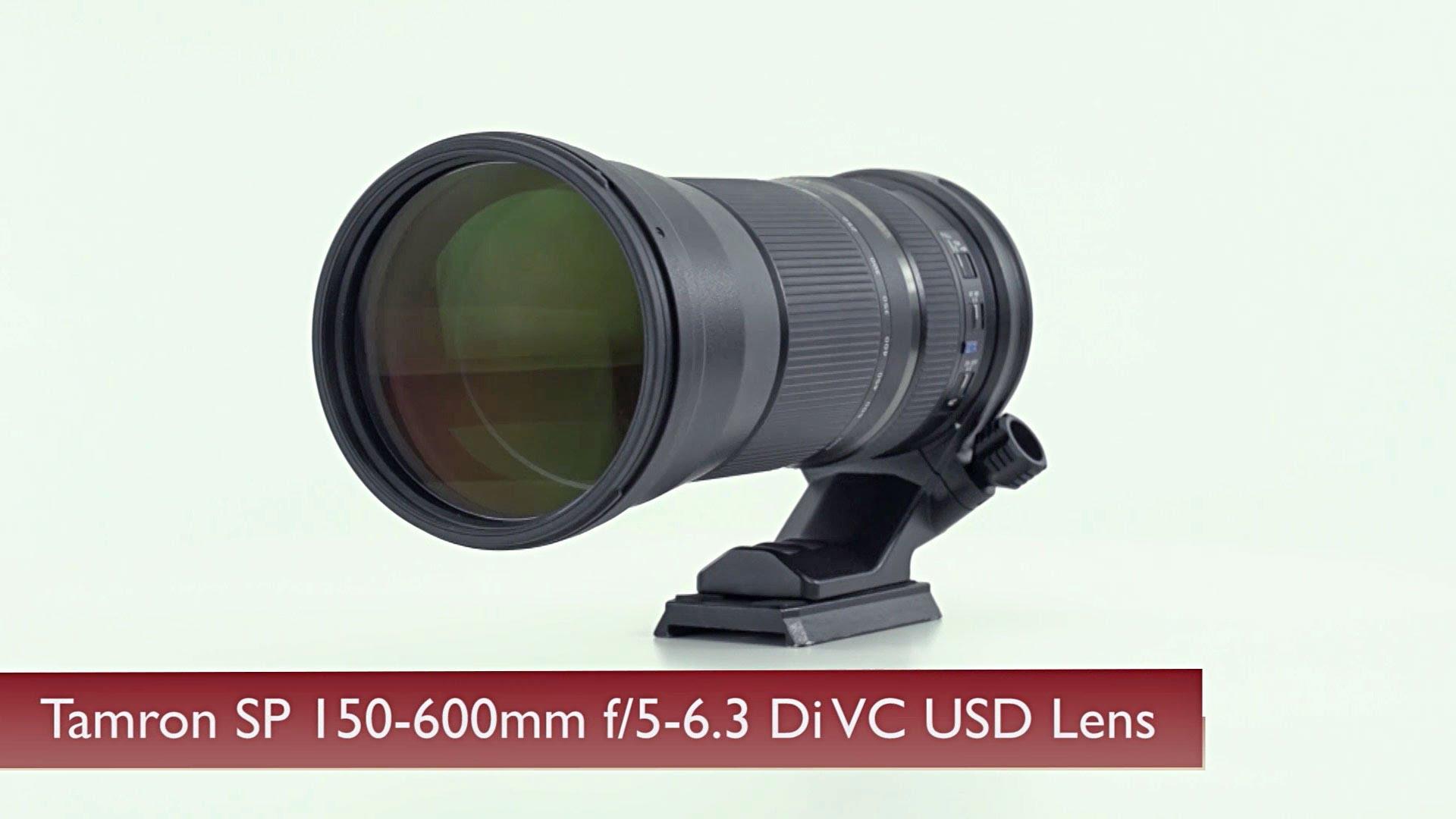 Tamron SP 150-600mm f/5-6.3 Di VC USD Zoom