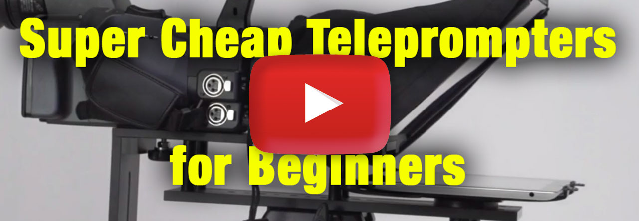 How To Get A Super Cheap Teleprompter