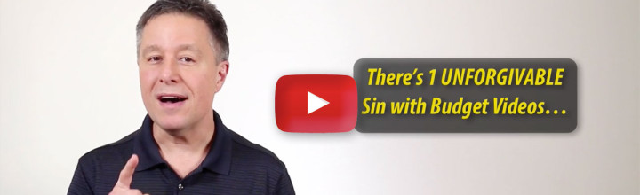 Fixing the 1 Unforgivable Sin In Video… CHEAP!