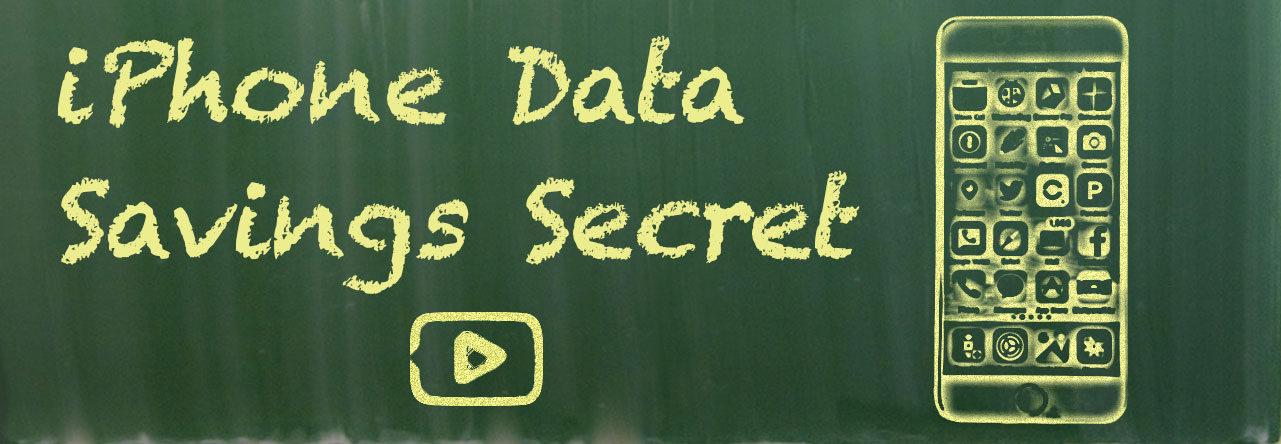 iPhone Data Dirty Little Secret (savings)