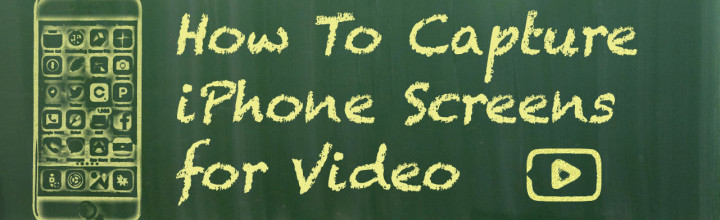 How To Capture iOS Device Video for Training